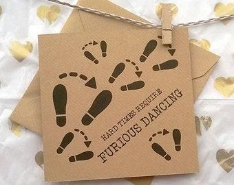 Dance - Greetings Card