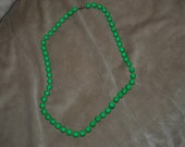 BEADED Necklace  Vintage, LARGE, Long,