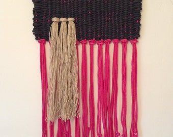 """Ropes Ahoy.....Woven Wallhanging by """"@nickersanne"""" of Nicole Pollock Design"""