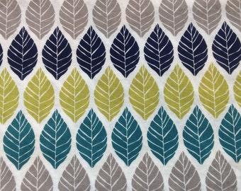 Reversible Teething Pads - Cool Leaves