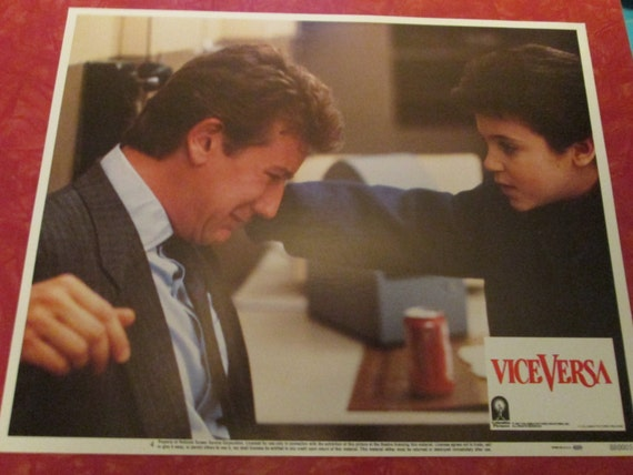 1967 vice versa movie lobby card fred savage by. Black Bedroom Furniture Sets. Home Design Ideas
