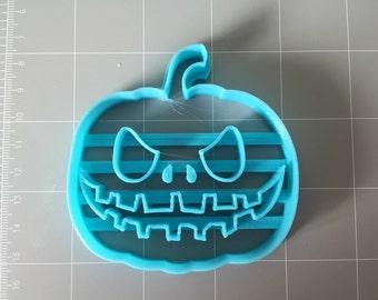 Halloween Scary Pumpkin cookie cutter