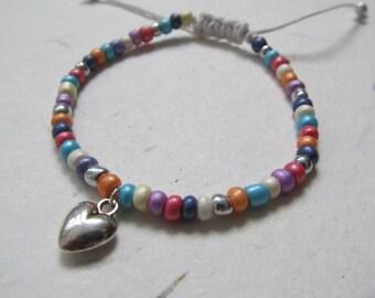 Heart bracelet, love bracelet, wish bracelet