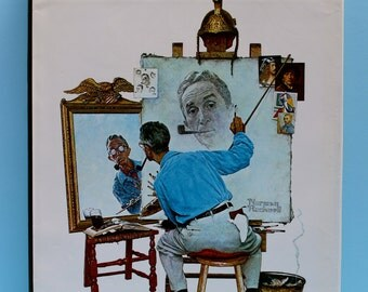 First Edition ~ Norman Rockwell ~ Author Thomas S Buechner ~ 1970 ~ Vintage ~ Hardcover ~ Coffee Table Book ~ Art Book ~ Collectible Book