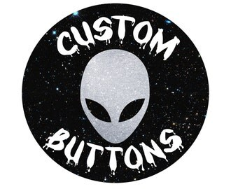 """Custom Buttons 1-1/4"""" and 2-1/4"""""""