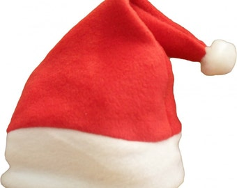 Baby Santa & Elf Christmas Hats - Green / Red - Available In all Baby Sizes
