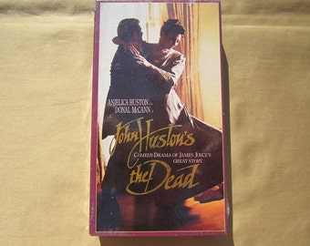 John Huston's The Dead-1988 VHS Movie-Never Been Played!