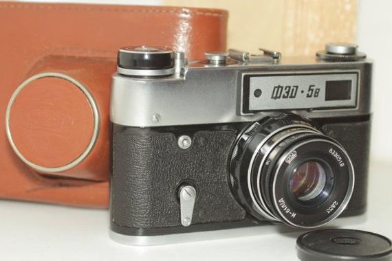 USSR Camera FED-5B Industar-61L/D 2,8/55 Soviet ж