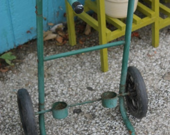 Old metal fishing cart****Read Lisitng Before Purchasing