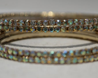 Dazzling Bangles, Diamond Bangles, Indian Jewelry, Fashion Jewelry, Handcrafted Jewelry, Pair of 4