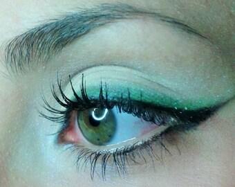 Blue Sparkles Mineral Eyeshadows Natural