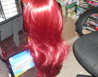 Poison Ivy wig and head band