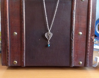 Key to my heart necklace.