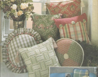 Simplicity 8859 Pillows Sewing Pattern - Pillows Package Sewing Pattern - Home Decor Sewing Pattern- Uncut Sewing Pattern