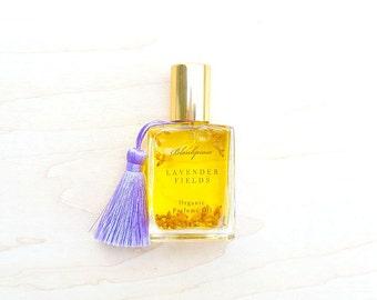 Lavender Fields • Stress Less • Organic Bulgarian Lavender Perfume Oil • Artisanal Aromatherapy • Roll-On • Aromatherapy On-The-Go