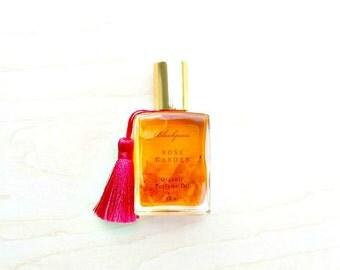Rose Garden • True Love • Organic Damask Rose Perfume Oil • Artisanal Aromatherapy • Roll-On • Aromatherapy On-The-Go