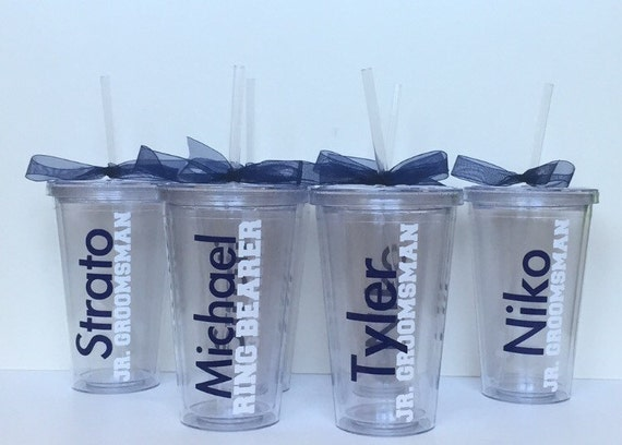 Wedding Gift For Junior Groomsmen : ... Tumbler, Wedding party, Junior groomsmen gift, Junior bridesmaid gift