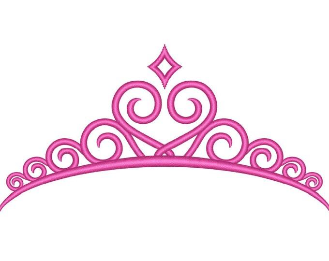 Princess crown silhouette