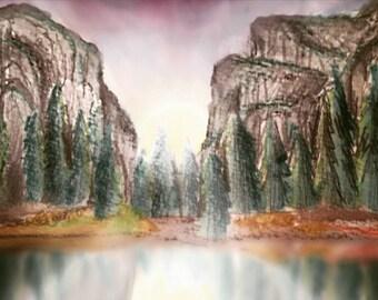 Yosemite Valley Phone Case