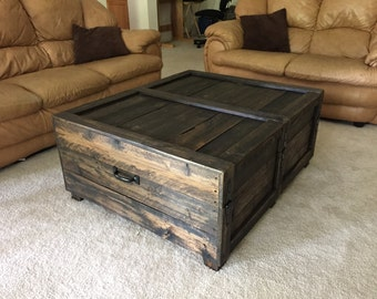 Large Coffee Table Trunk Part 71