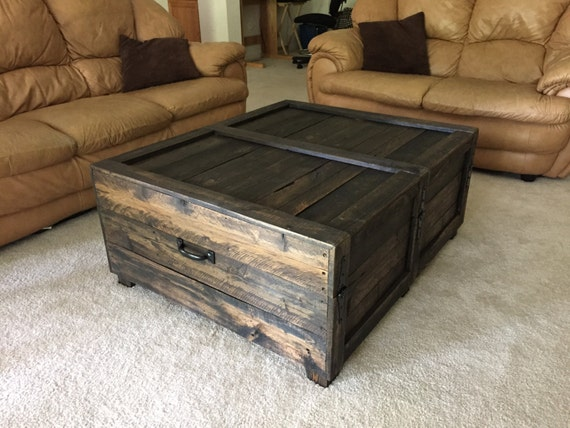 Large Coffee Table Trunk