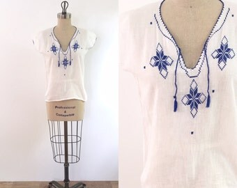 1930s Vintage Peasant Blouse   small