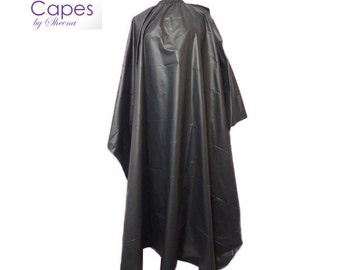 Black Shampoo Cape by Capes by Sheena