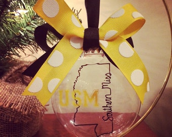 Southern Miss Ornament