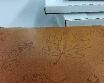 Maywood studio.  MAS16017-S. Orange with leaves