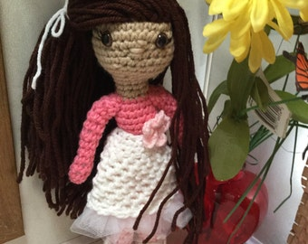 Crochet Liliy Doll This Doll is Ready to Ship