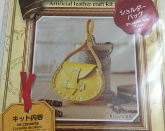 Artificial Leather Craft Kit - Shoulder Bag