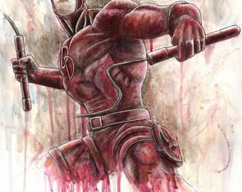 Daredevil Artwork Print