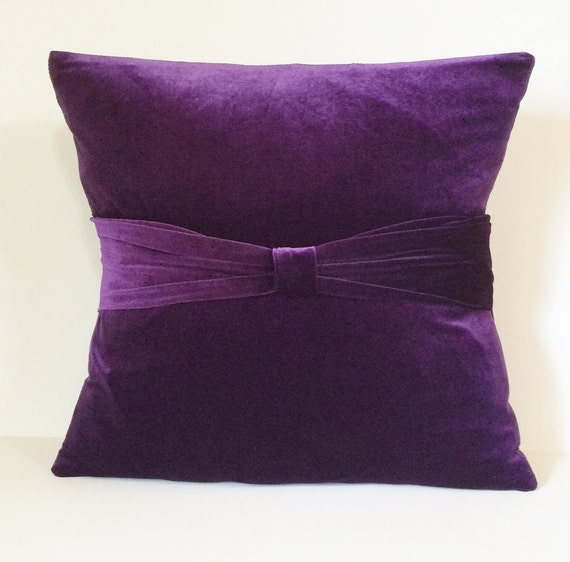 Plum Velvet Sofa Throw Pillow Cover Pillow Case Slipcover. Individual Chairs For Living Room. Bay Window In Living Room. Living Room Setting Ideas. Curtains Living Room. Formal Living Room Sets For Sale. Cloud Lounge And Living Room. Accent Wall Pictures Living Room. How To Organize The Living Room