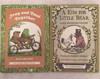 Frog And Toad Together & A Kiss For Little Bear Vintage Books