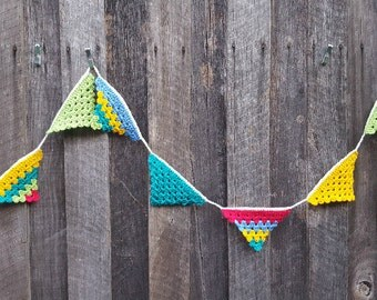 Bunting - Multi-coloured Garland