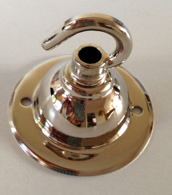 Chrome Ceiling Rose Hook For Pendant Light Or By HomeCrush