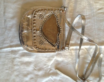 Vintage Sterling Silver Cross Body Bag by Andrea Carrano