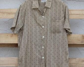 60s Men's Collared Shirt
