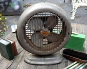Fan, Model 52 Bond Fan, Bond Air Recirculator Fan, Atomic Age Decor, Industrial Fan, Tilting Swiveling Fan, Man Cave, Lasko Fan, Steel Fan