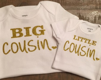 Big Cousin Little Cousin Shirt Set