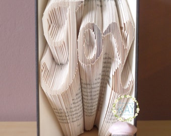 Book Folding Pattern Joy - Instant Download PDF (197 Folds) With Tutorial