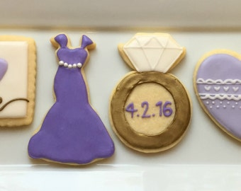 Wedding Shower Cookies (1 dozen)