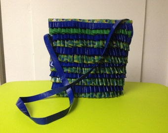 Large Ruffle Purse