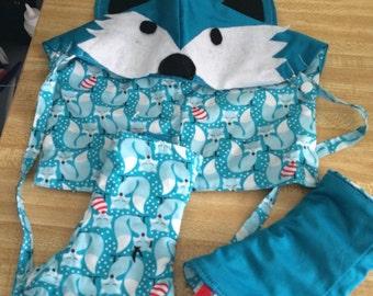 Tula Fox set hood 2 pads 2 straps