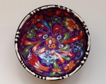 Lovely handmade ceramic trinket dish