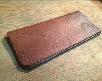 Ladies leather wallet, slim leather wallet, Bifold wallet, minimal leather wallet