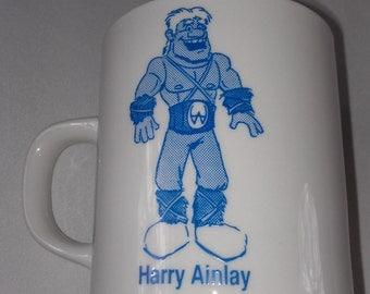 Harry Ainlay High School Coffee Mug Cup 80s 90s Edmonton Canada Rare