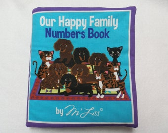 Our Happy Family Numbers Book Cloth Book