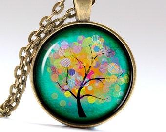 Tree of Life Pendant Tree Jewelry Autumn Necklace Autumn Pendant Autumn Jewelry Tree of Life Necklace Tree of Life Jewelry LG263