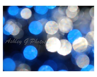 blue and white abstract photography, bokeh photography, macro photography